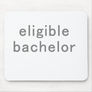 Eligible Bachelor Mouse Pad