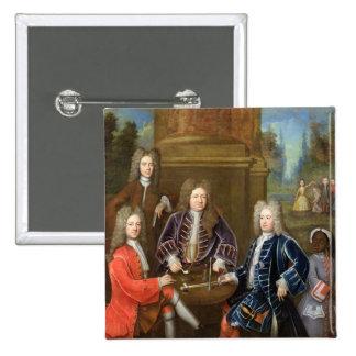 Elihu Yale (1648-1721) el segundo duque de Devonsh Pin