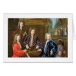 Elihu Yale (1648-1721) el segundo duque de Devonsh Tarjeta De Felicitación