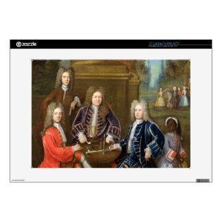 "Elihu Yale (1648-1721) the second Duke of Devonshi 15"" Laptop Decal"