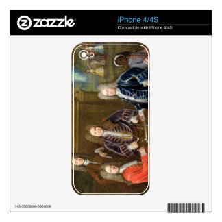 Elihu Yale (1648-1721) the second Duke of Devonshi Decal For The iPhone 4