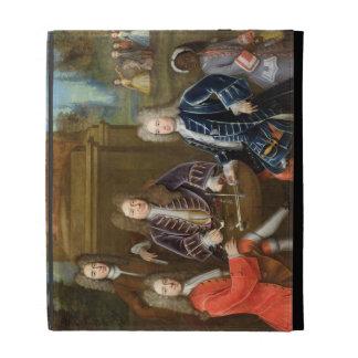 Elihu Yale (1648-1721) the second Duke of Devonshi iPad Folio Cases