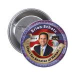 Elija a Brian Schatz para el senador de Hawaii - 2 Pins