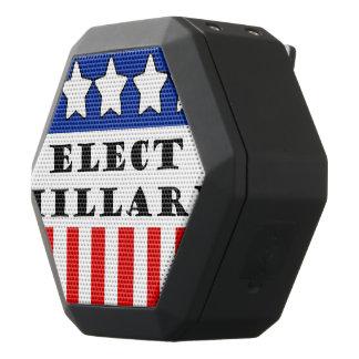 Elija a Hillary Clinton Altavoces Bluetooth Negros Boombot REX