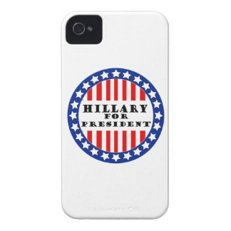 Elija a Hillary Clinton iPhone 4 Case-Mate Funda