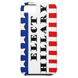 Elija a Hillary Clinton iPhone 5 Case-Mate Funda