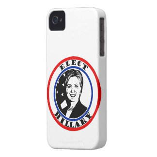 Elija a Hillary Clinton iPhone 4 Case-Mate Cobertura