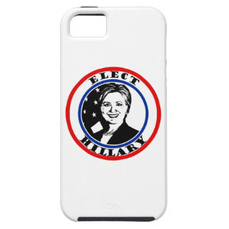 Elija a Hillary Clinton iPhone 5 Fundas