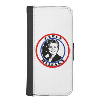 Elija a Hillary Clinton Funda Tipo Cartera Para iPhone 5