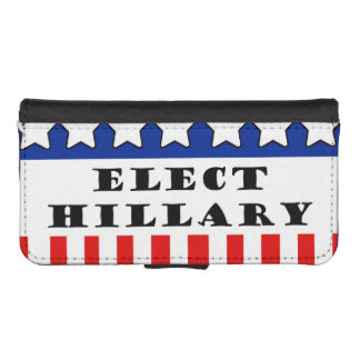 Elija a Hillary Clinton Cartera Para iPhone 5
