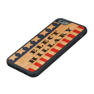 Elija a Hillary Clinton Funda De iPhone 6 Bumper Cerezo