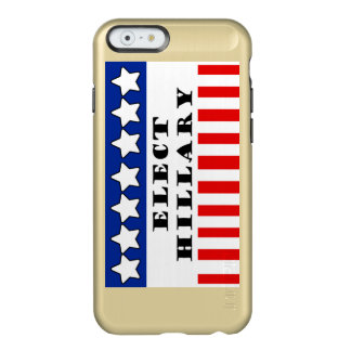 Elija a Hillary Clinton Funda Para iPhone 6 Plus Incipio Feather Shine
