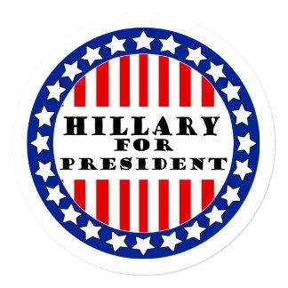 Elija a Hillary Clinton