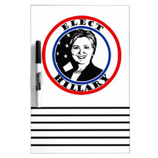 Elija a Hillary Clinton Pizarra