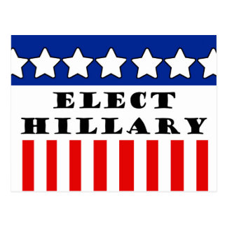 Elija a Hillary Clinton Postales