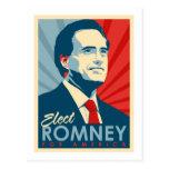 Elija a Mitt Romney para el presidente Tarjeta Postal