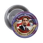 Elija al caminante de Scott para el gobernador de  Pins