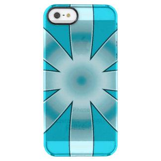 Elija cualquier modelo de estrella repetido color funda clearly™ deflector para iPhone 5 de uncommon