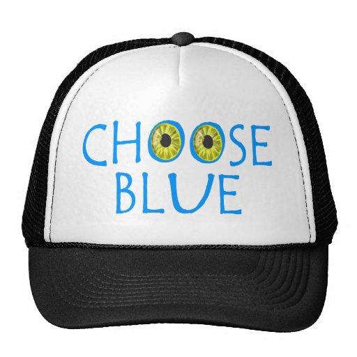 Elija el azul gorro de camionero