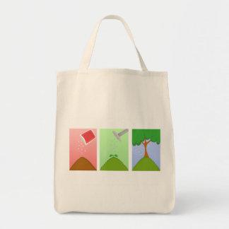 Elija el bolso de la vida bolsa tela para la compra