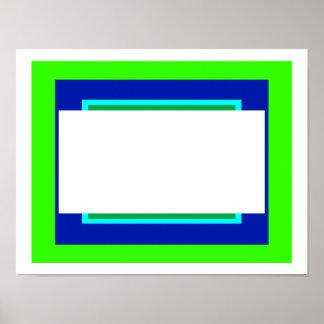 Elija el color de fondo marco añaden su imagen impresiones