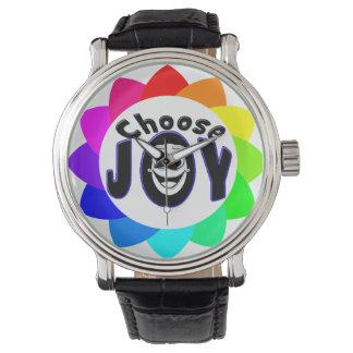 Elija el reloj de la alegría