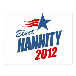 Elija Hannity Postales