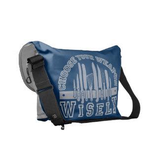 Elija la su bolsa de mensajero del personalizado d bolsas de mensajería