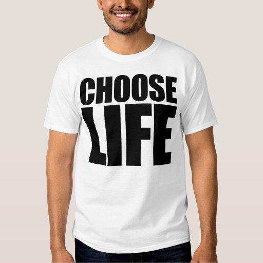 Elija la vida poleras