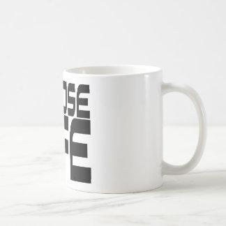 Elija la vida tazas de café