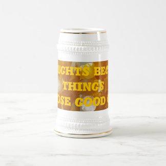elija los buenos stein jarra de cerveza