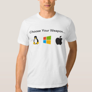 Elija su arma Linux, Windows, OS X Playeras
