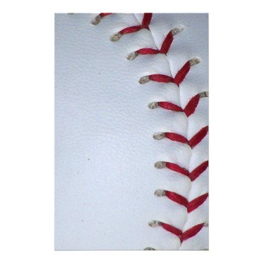 Elija su béisbol del color - softball papelería