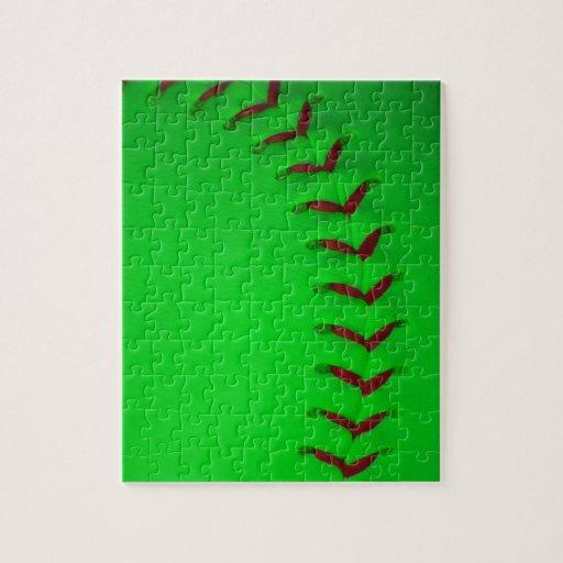 Elija su béisbol del color - softball puzzles con fotos