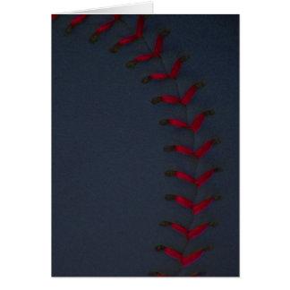 Elija su béisbol del color - softball tarjeta de felicitación