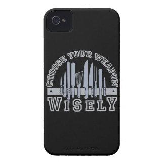 Elija su caja intrépida de encargo de Blackberry iPhone 4 Funda