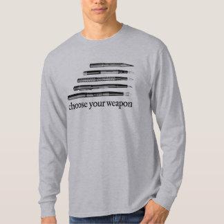 Elija su camisa del arma