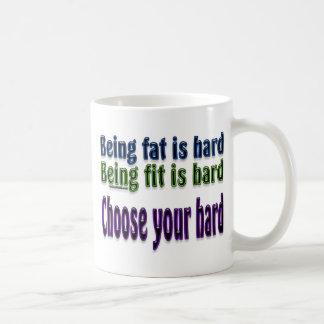 Elija su duro taza básica blanca