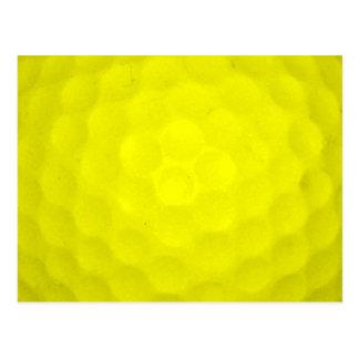 Elija su pelota de golf del color tarjeta postal