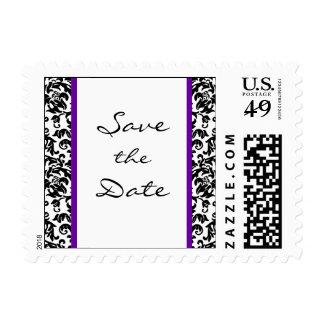 Elija su propia reserva del color el franqueo de timbre postal