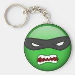 Elija su propio Ninja Smilie Llavero Personalizado
