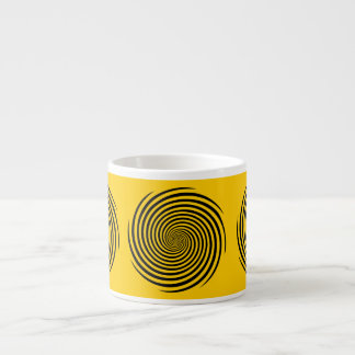 Elija su taza del café express del color de fondo tazita espresso
