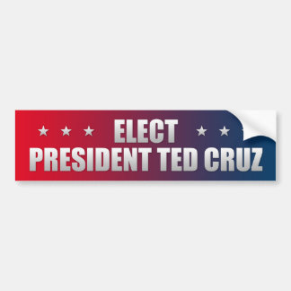 Elija Ted Cruz 2016 Pegatina Para Coche