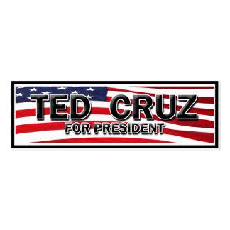 Elija Ted Cruz Tarjetas De Visita Mini