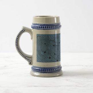 Elija un arte abstracto del fondo del color jarra de cerveza