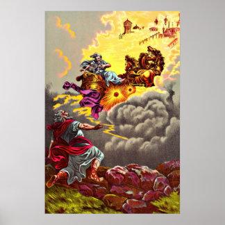 Elijah Ascends to Heaven poster