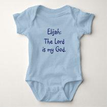 Elijah Baby Name Meaning Bodysuit
