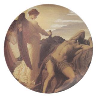 Elijah in the Wilderness Melamine Plate