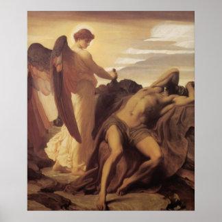 Elijah In The Wilderness Poster