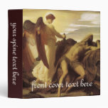 Elijah in Wilderness by Leighton, Victorian Art Vinyl Binders